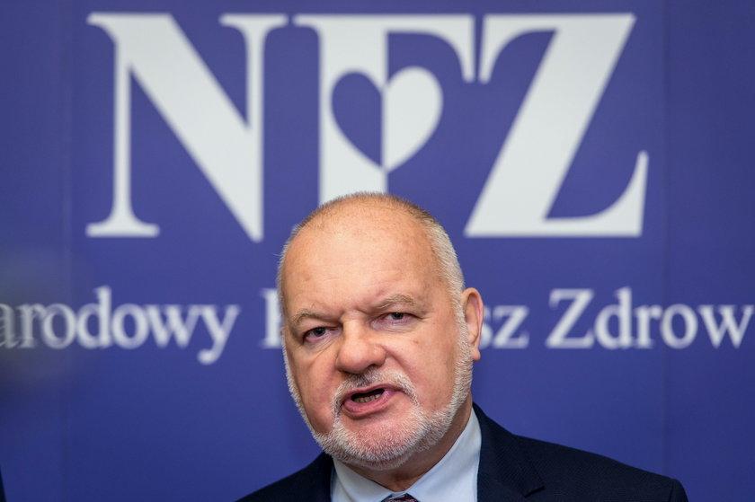 Prezes NFZ chce nam podnieść składki