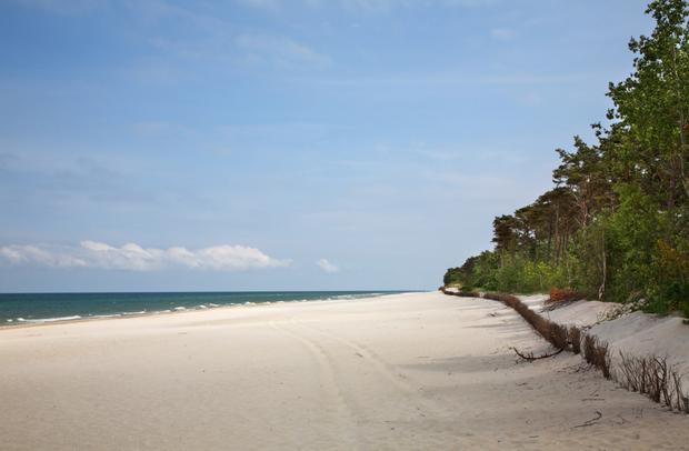 Plaża, Jastarnia