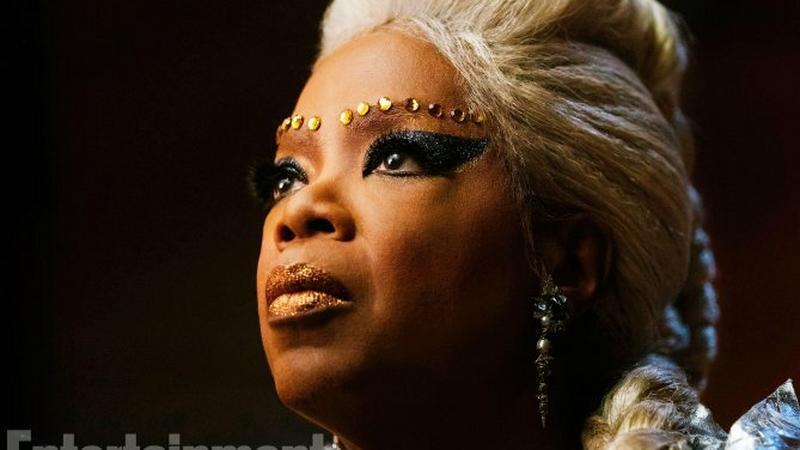 """Oprah Winfrey w filmie """"A Winkle in Time"""""""
