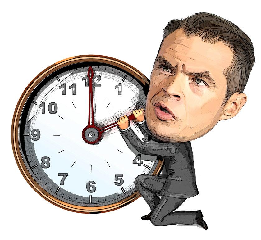 Minister Nowak - król zegarków