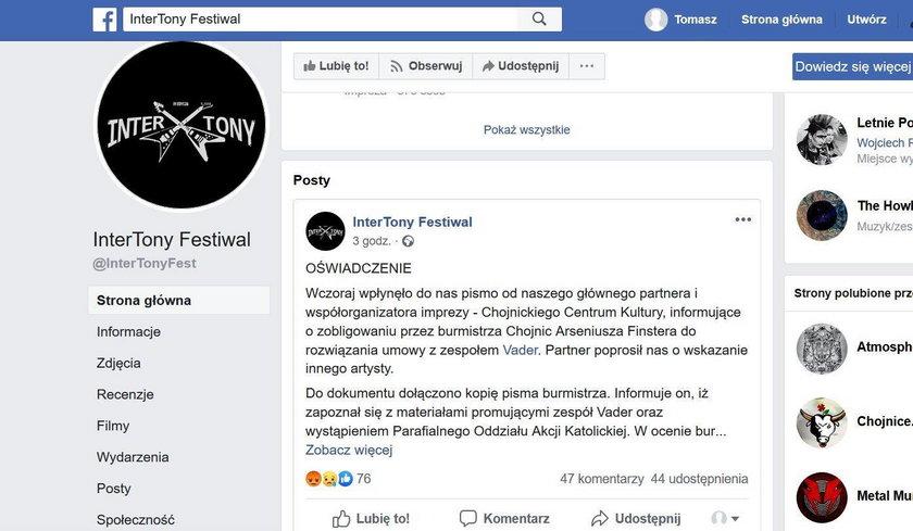 Parafialny Oddział Akcji Katolickiej storpedował festiwal!