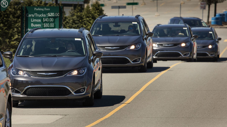 Nowy Chrysler Pacifica