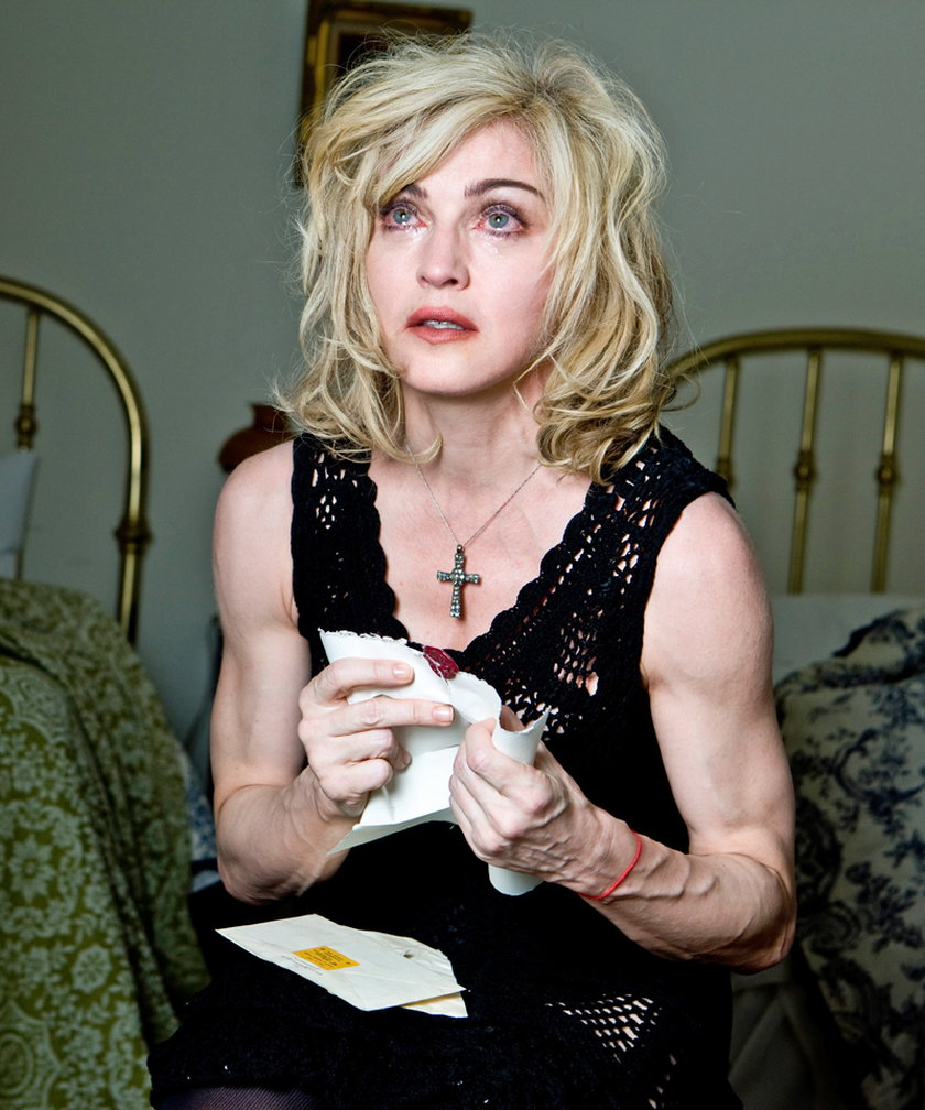 Madonna ma okropne ręce