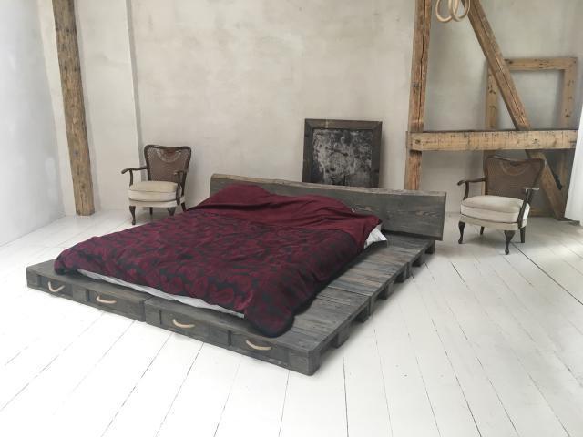 Jak Zrobić łóżko Z Europalet Wersja Ekonomiczna I