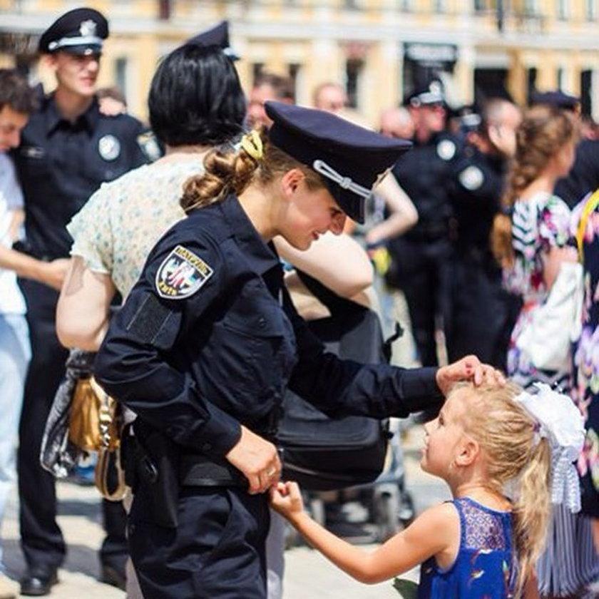 Mieszkańcom Kijowa przypadła do gustu nowa policja