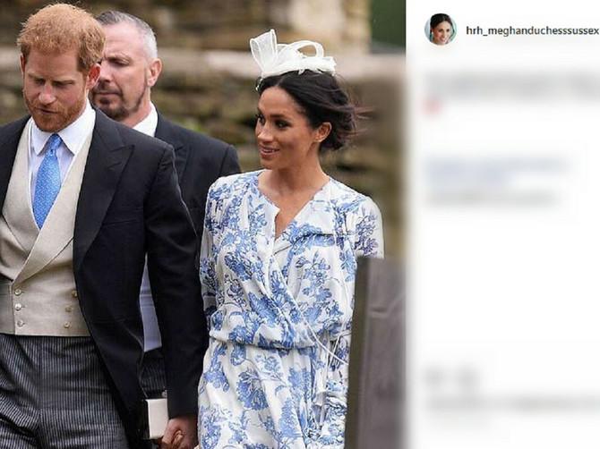 Na porodičnoj svečanosti svi su gledali samo u njih! A haljina Megan Markl imala je posebnu SIMBOLIKU