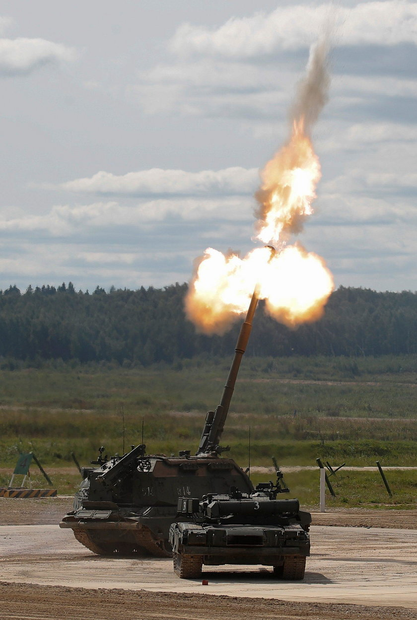 Największe rosyjskie manewry od czasów ZSRR.