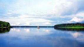 Mazury: szlak żeglowny na jeziorze Nidzkim