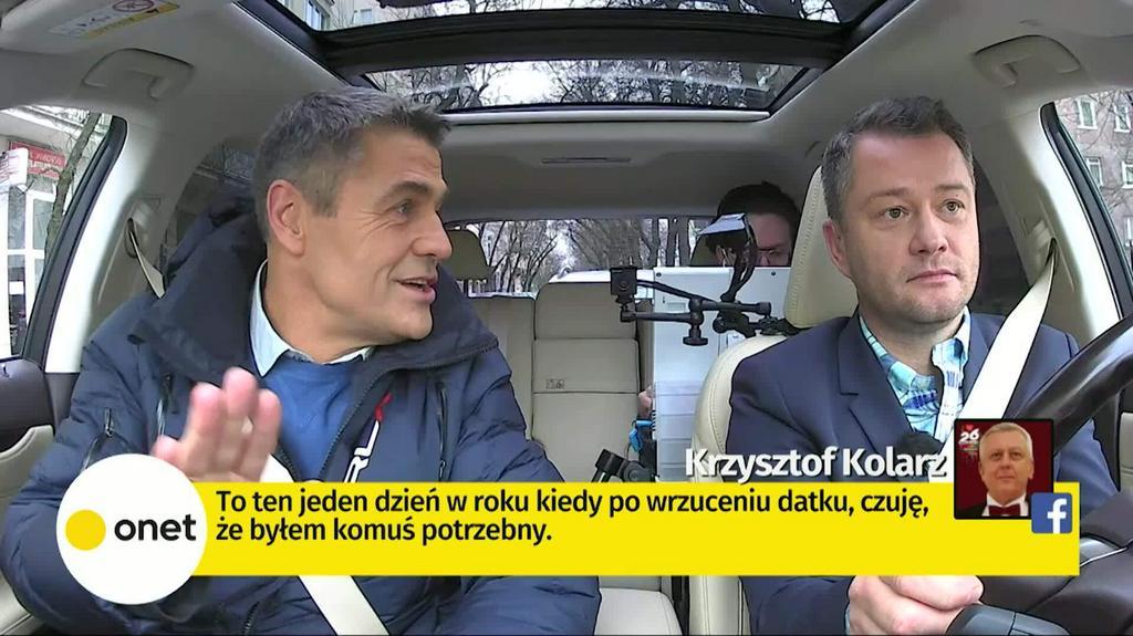 Onet Rano.: Krzysztof Hołowczyc (14.01)