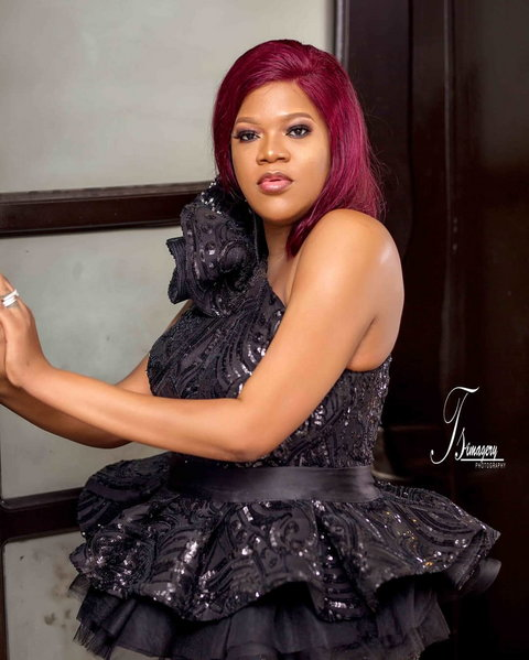 Toyin Abraham worked her way to emerge one of the best actresses of the decade despite the controversies that trailed her love life. [Instagram/ToyinAbraham]
