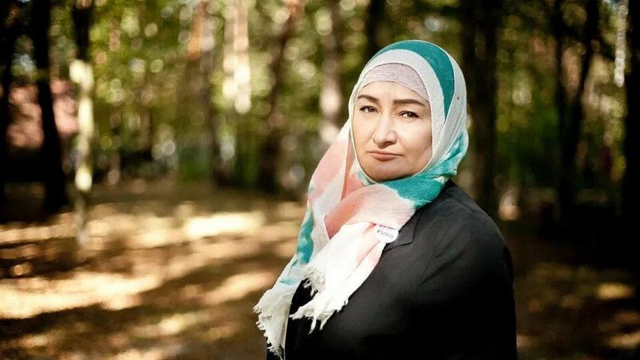 Khedi Alieva jest uchodźczynią z Czeczenii, pomaga innym kobietom