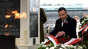 Prezydent Andrzej Duda podczas obchodów Narodowego Dnia Niepodległości w Warszawie