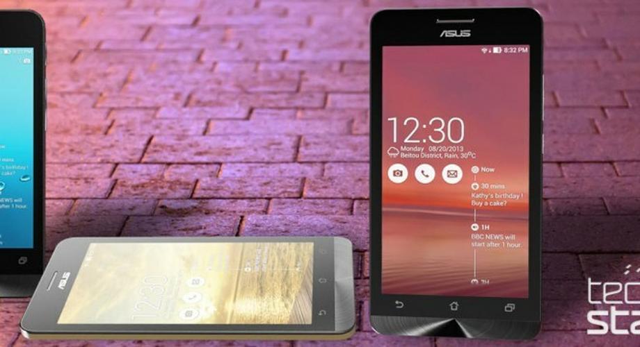 CES 2014: Asus ZenFone 4, 5 und 6 von 99 bis 199 Dollar