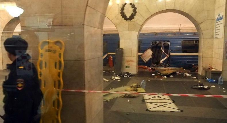 An April attack on Russia's Saint Petersburg metro killed 15 people