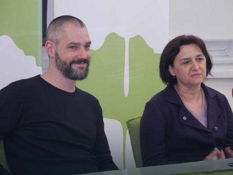 Vasil Hadžimanov i Violeta Jovanović