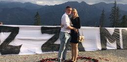 """Wyjątkowe zaręczyny! Kalina powiedziała """"tak"""" na Gubałówce"""
