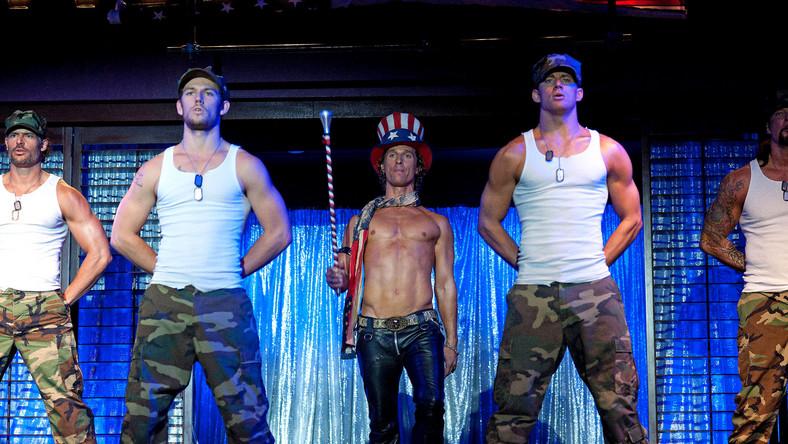 """""""Magic Mike"""" robi męski striptiz"""