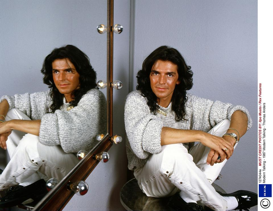 Thomas Anders w latach 80.