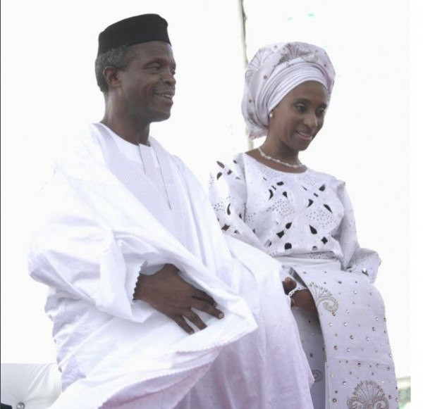 VP Osinbajo and Mrs Dolapo celebrate their 27th wedding ceremony