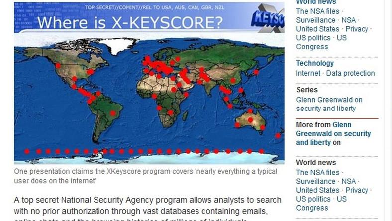 XKeyscore to inwigilacja większa niż PRISM