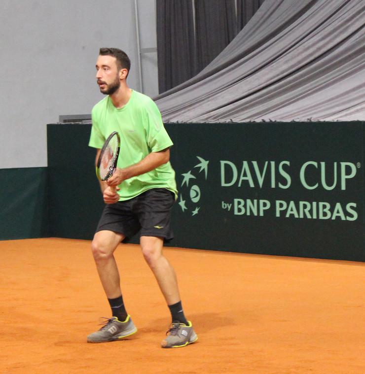 Nikola Milojević na treningu u Čairu