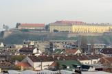 Novi Sad 1127  Grad iz pticije perspektive petrovaradinska tvrdjava foto Nenad Mihajlovic
