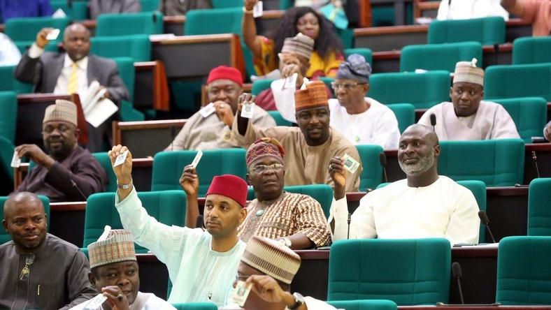 House of Reps members in the Green chambers