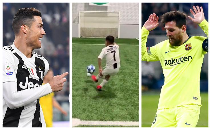 Mali Ronaldo, Mesijev izazov