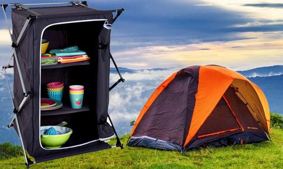 Praktični ormarić za kampovanje