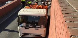 Porwanie ciężarówki z gazem. Szaleniec ujęty