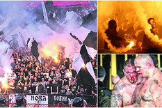Borba za prevlast na navijačkim tribinama Partizana