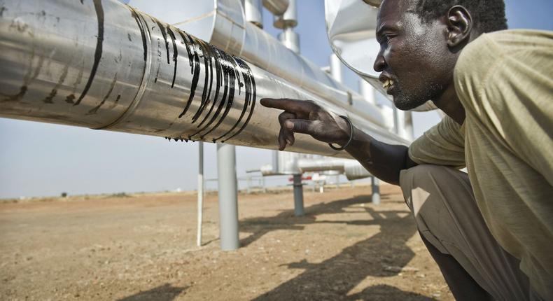 South Sudan oil