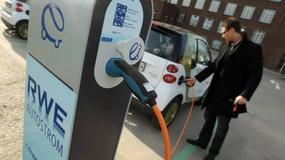 Brytyjskie stacje benzynowe naładują elektryczne auto