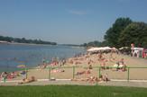 Ada Ciganlija Beograd kupanje sunčanje