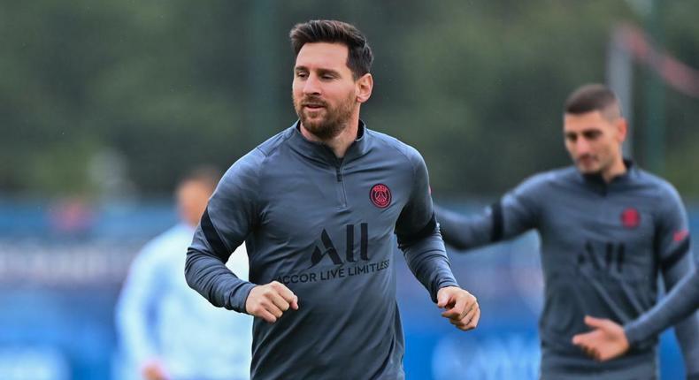 Messi et Verrati