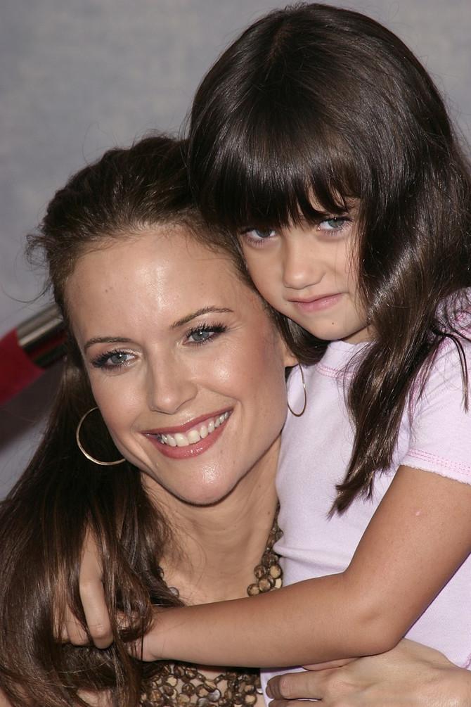 Ela Blu Travolta sa majkom Keli Preston pre više godina