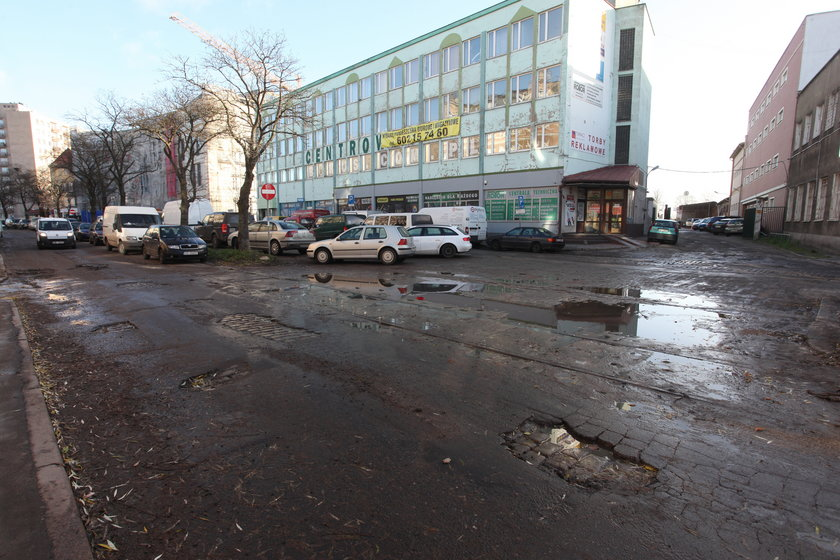 ulice Dolnego Miasta w Gdańsku