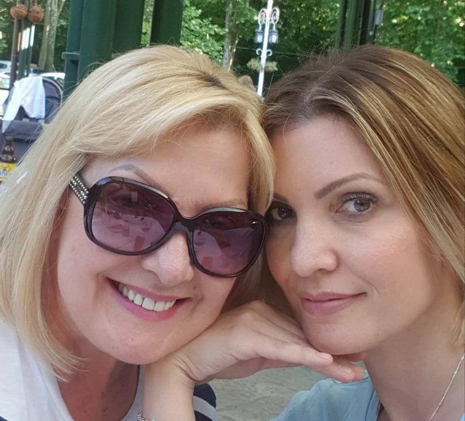 Snežana Đurišić sa ćerkom