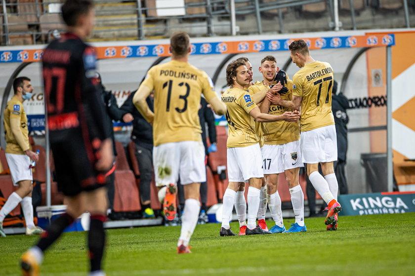 Zagłębie Lubin pokonało Jagiellonię 3:0