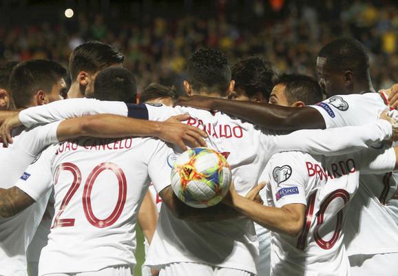 Kristijano Ronaldo u dresu Portugala