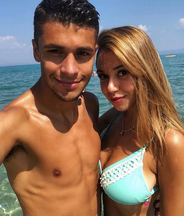 Mateo Garsija i devojka