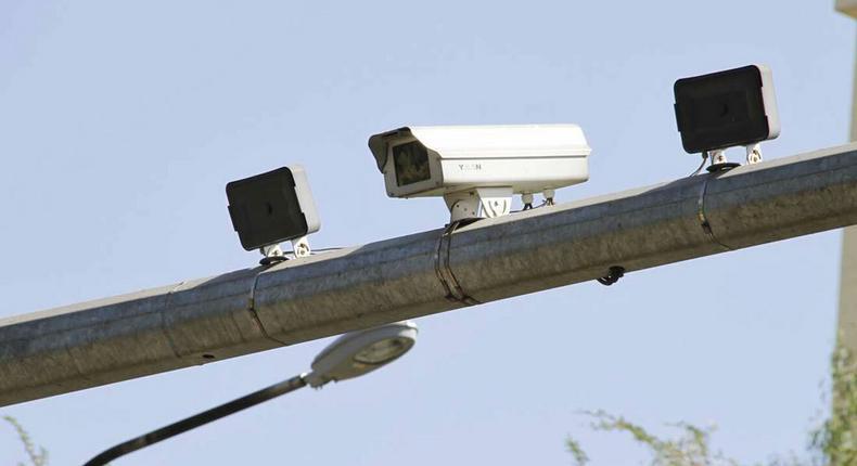 CCTV cameras along Kenyatta Avenue in Nairobi