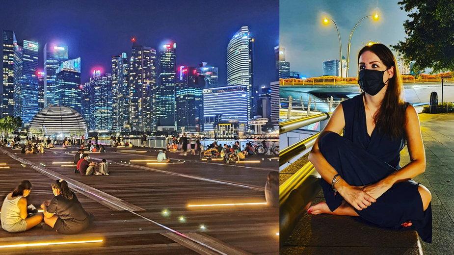 Joanna Bogdan o sytuacji w Singapurze
