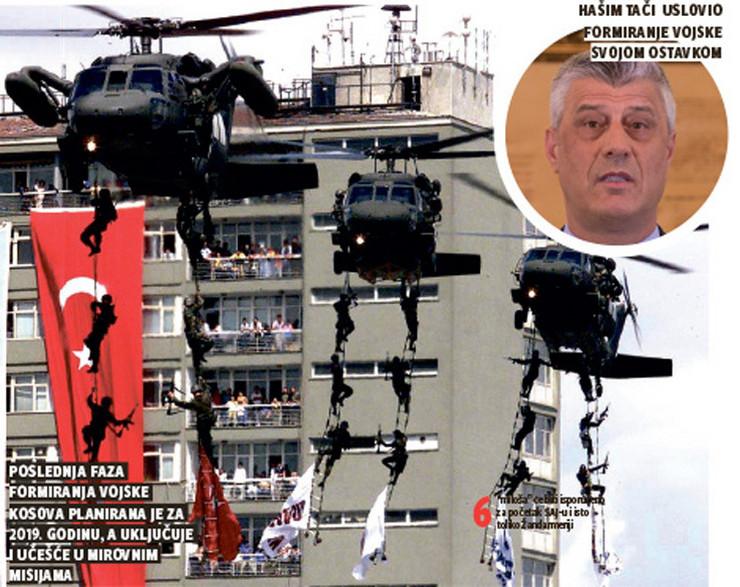 grafika hasim taci vojska kosova foto RAS