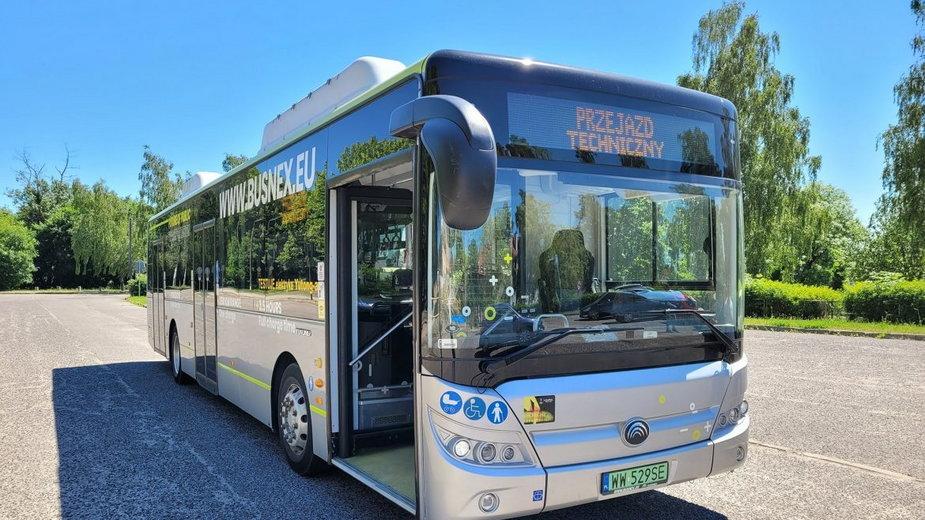 Autobus Yutong E8