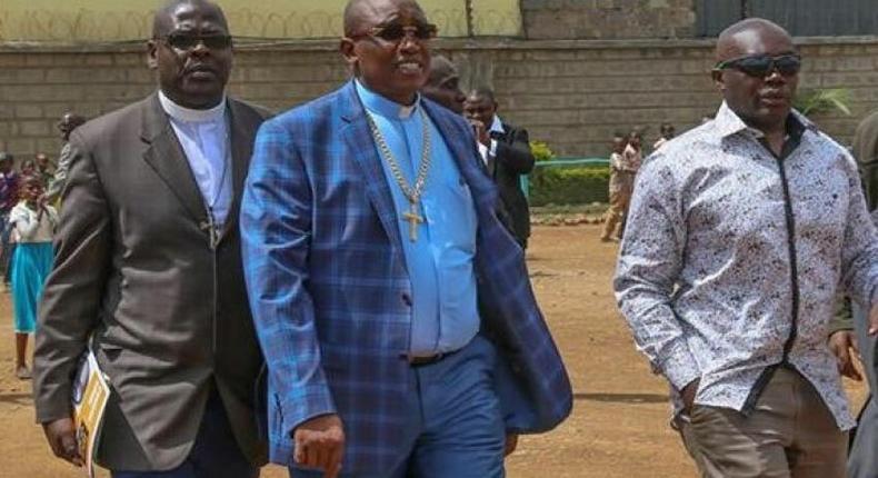 Bishop David Kariuki Ngari also known as Gakuyo