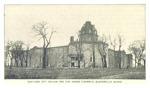 Duševna bolnica na Ruzvelotovom ostrvu, oko 1893. (FOTO: Wikimedia Commons)