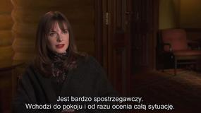 """""""Pierwszy śnieg"""": Rebecca Ferguson o filmie"""