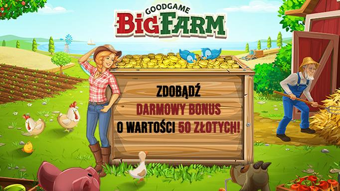 Big Farm - Event: 50 złotych
