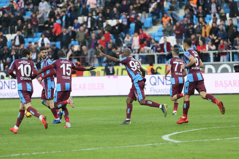 Anthony Nwakaeme scored for Trabzonspor in Turkey (Twitter/Trabzonspor)